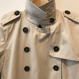 ZARA Tan pea coat